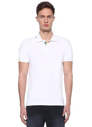 Beymen Club Polo Yaka Tişört Beyaz